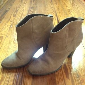 Soft Light Tan Leather Zara Boots